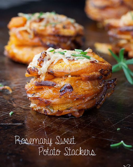 Rosemary sweet potato stackers recipe my favorite recipes for 6 tablespoons butter