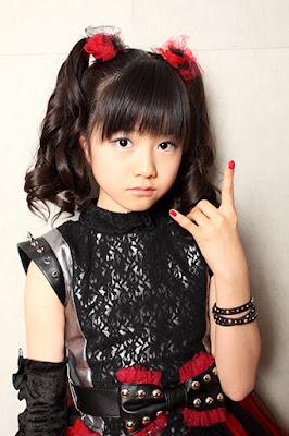 Yui Mizuno a.k.a YuiMetal (Screamer and Dancer)