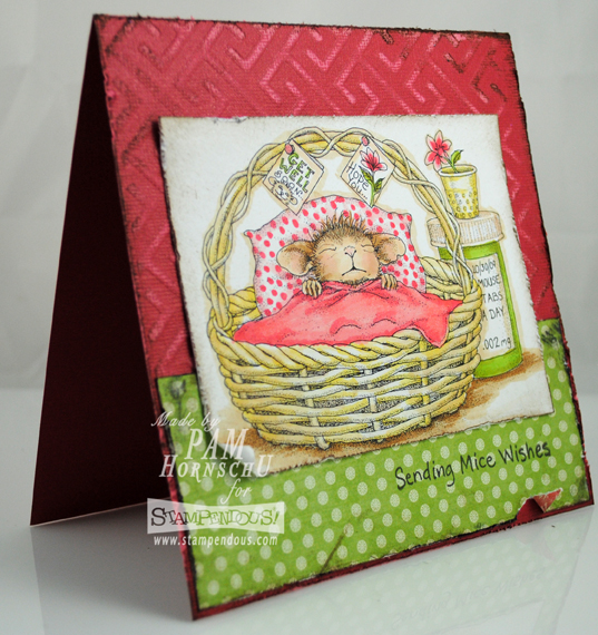 The Pampered Stamper: Sending Mice Wishes with Stampendous ... on house mouse christmas, house mouse design time, house cleaning services business cards,