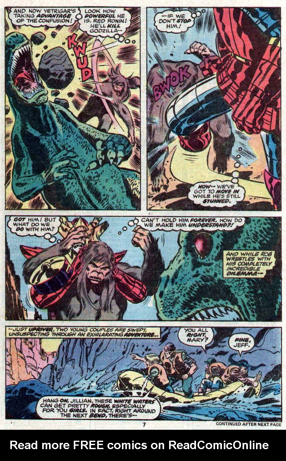 Godzilla (1977) Issue #11 #11 - English 6