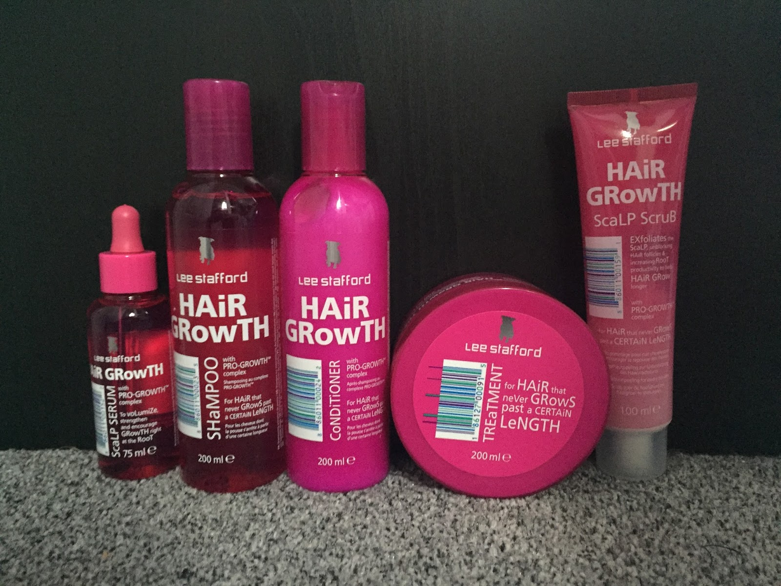 Lee Stafford: Hair Growth Range