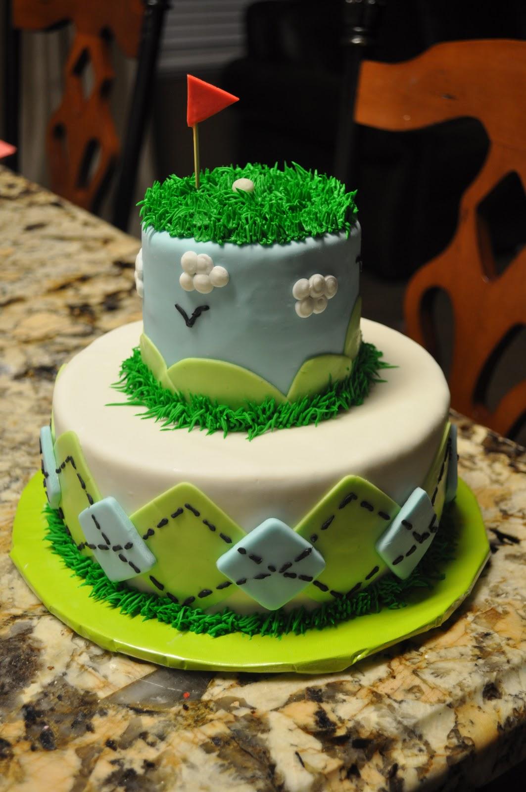 Doodlepie Cakes Golf Cakes