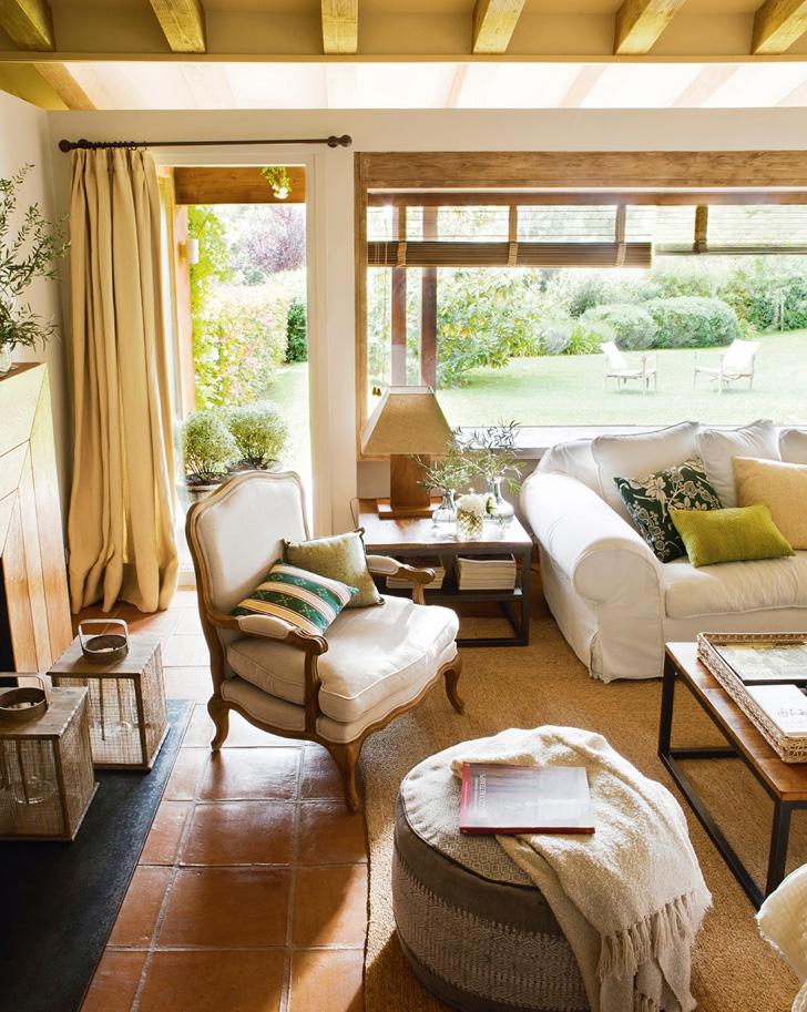 Rustic și clasic într-o frumoasă casă din Spania