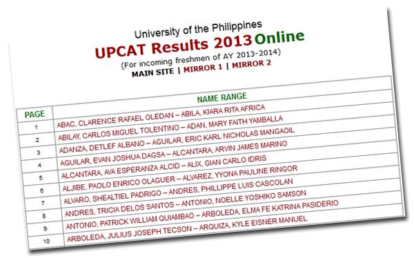 upcat essay 2014