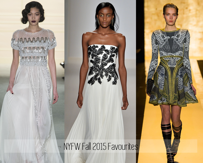 New York Fashion Week Fall 2015 Favourites