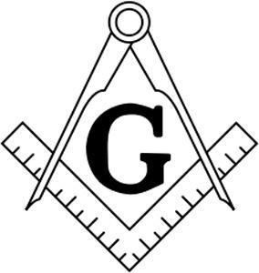 Los símbolos masónicos de la escuadra y el compás
