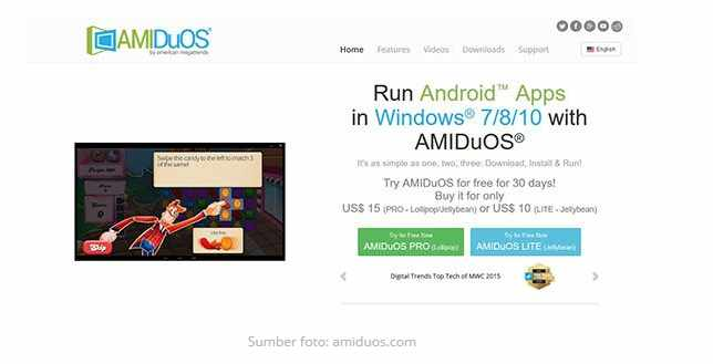Android emulator untuk pc ringan