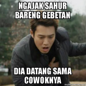 Dp BBM Lucu Sahur