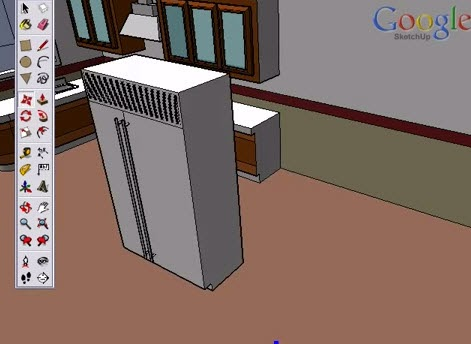 Google Sketchup Toolbar Move