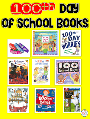 100th day of school books