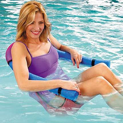 Silla flotador para la piscina