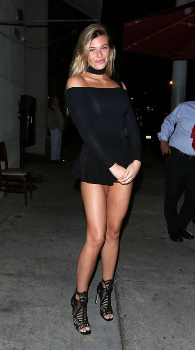 Samantha Hoopes at Craig's Restaurant in West Hollywood