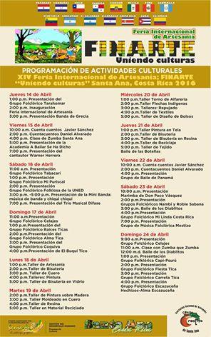 Escazu News Feria Internacional De Artesanía 13 Al 24 De Abril En