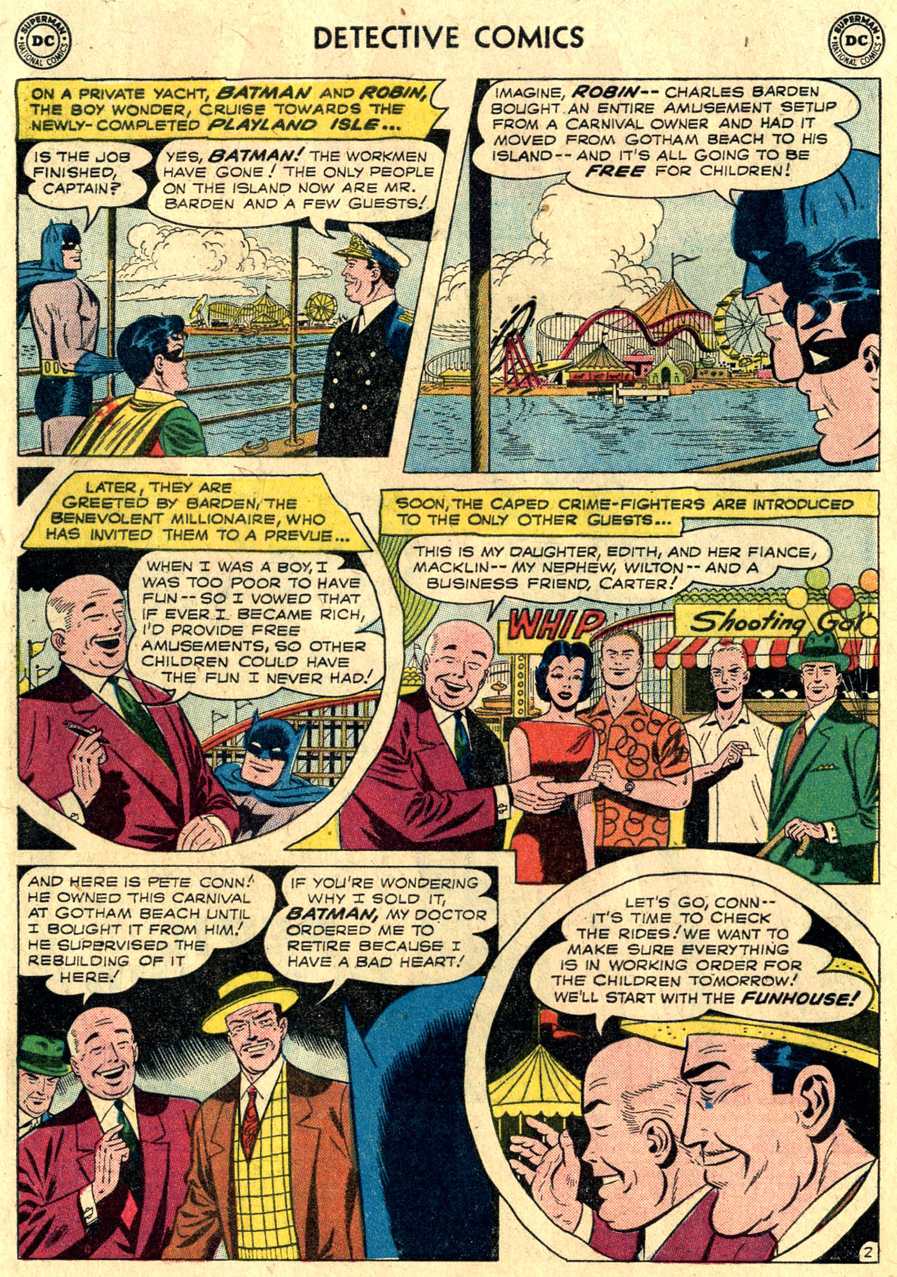 Detective Comics (1937) 264 Page 3