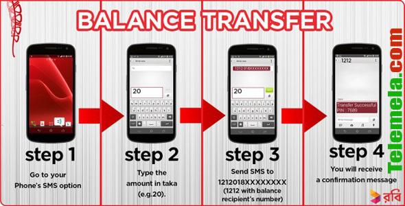 Robi Balance Transfer