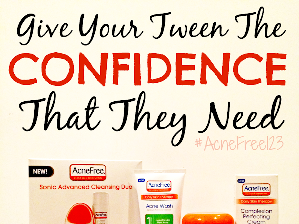 Give Your Tween The Confidence That They Need #acnefree123