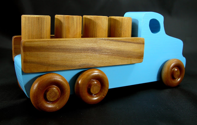 Handmade Wooden Toy Lorry Truck From The Quick N Easy 5 Truck Fleet Etsy Listing 705872553