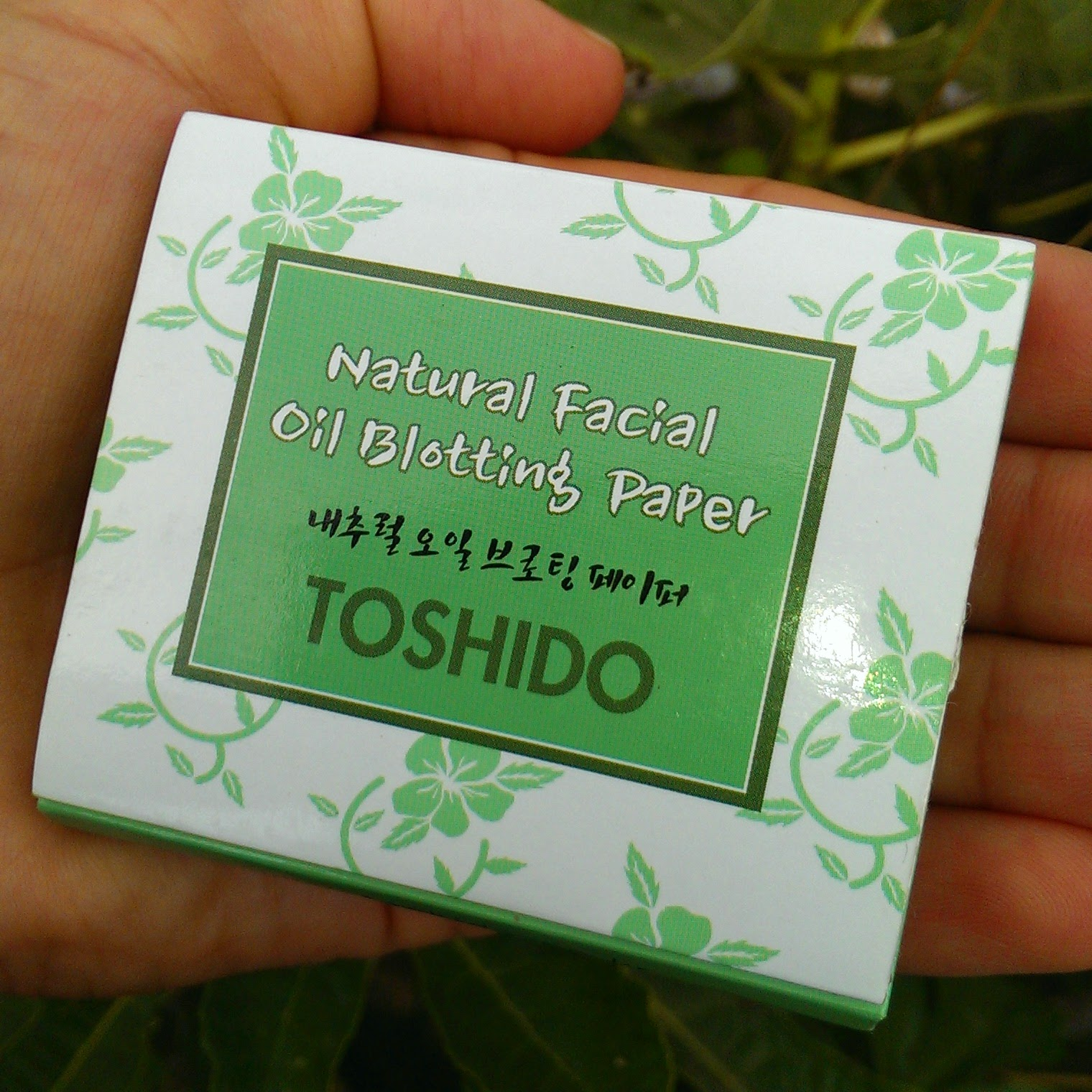 Матирующее недоразумение: Toshido Natural Facial Oil Blotting Paper