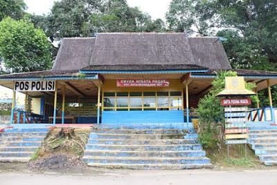 Loket Pintu Masuk di pagat batu Benawa, Tiket Masuk Pagat Batu Benawa, Pagat Batu Benawa