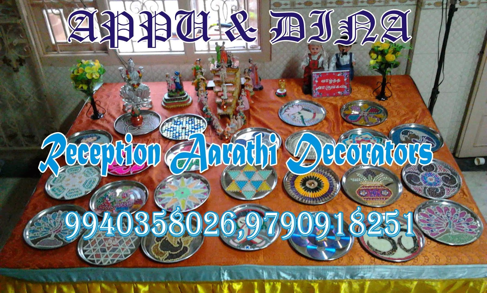Aarathi plates we are decorating aarathi plates for any type of functions for rent we will be decorating it in a grand manner with dollslighting and etc junglespirit Gallery