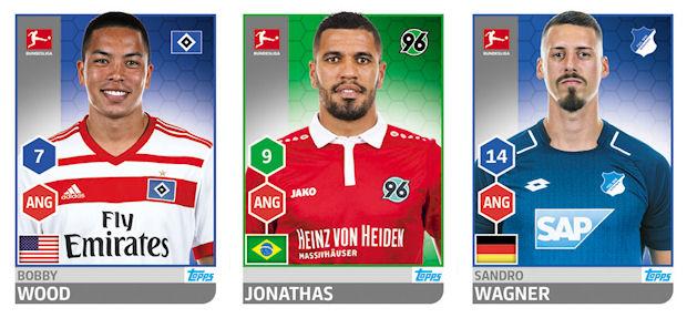 Ignacio Camacho TOPPS Bundesliga 2017//2018 Sticker 265