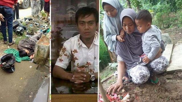 Ibu 2 Anak Ini Curhat Suaminya Tewas Ditabrak Polisi, Dijawab Akun Polres Bogor