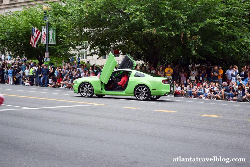 Parade in Washington, DC on July 4