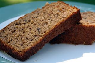 Gluten-Free Banana Bread (chia / whey-protein)