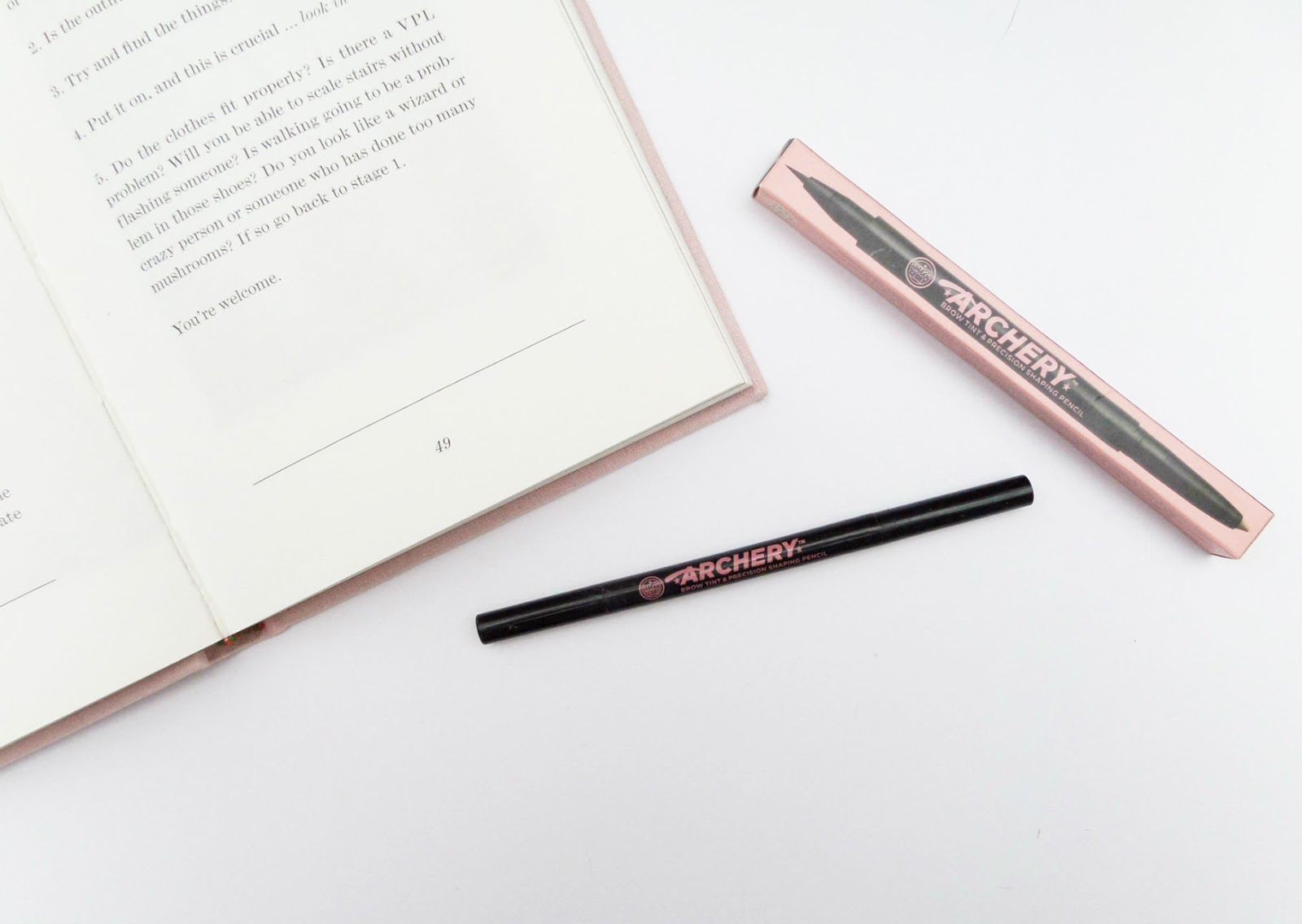 The Soap and Glory Brow Archery Love is Blonde Review