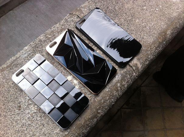 Obsidian Stone Case