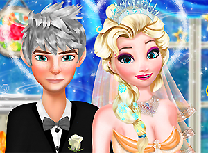 Jack and Elsa: Perfect Wedding Pose