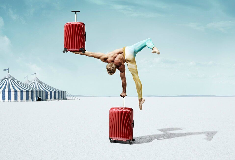 Samsonite Luggage Brand