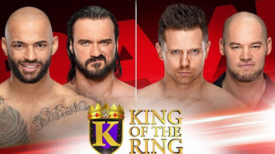 WWE KOTR King of the Ring Rounds The Miz Baron Corbin Royal Clash of Champions Tournament Crown
