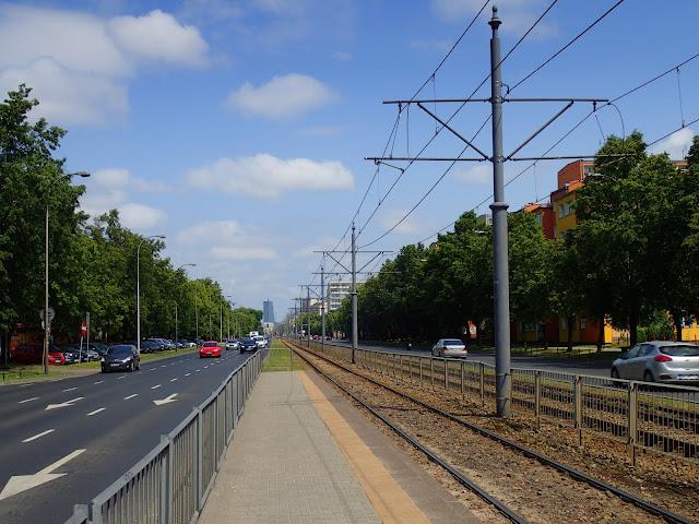 Ochota z perspektywą na linię tramwajową
