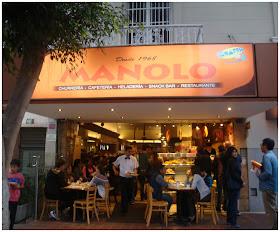 Lanchonete e churrería Manolo, Lima, Peru