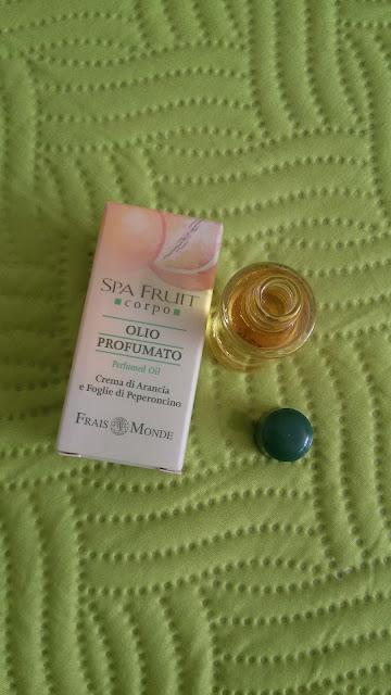 Olej miesto parfému