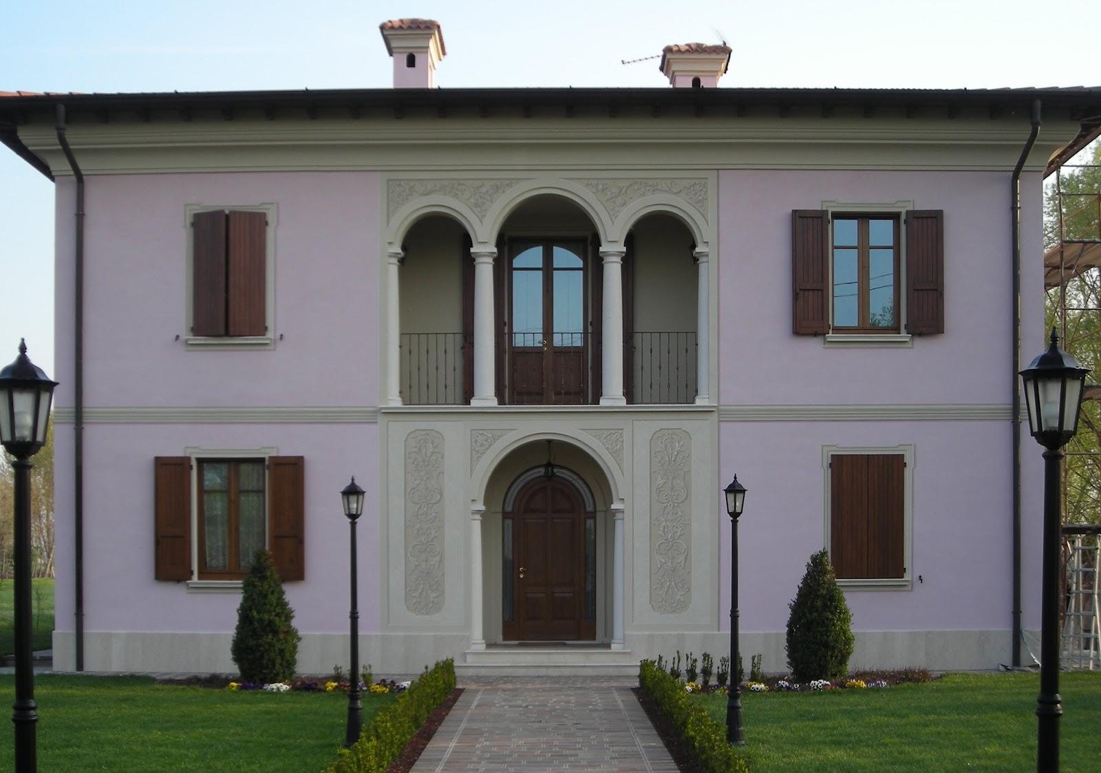 Facciata Casa Di Campagna artemusa decorazioni: facciata abitazione di campagna