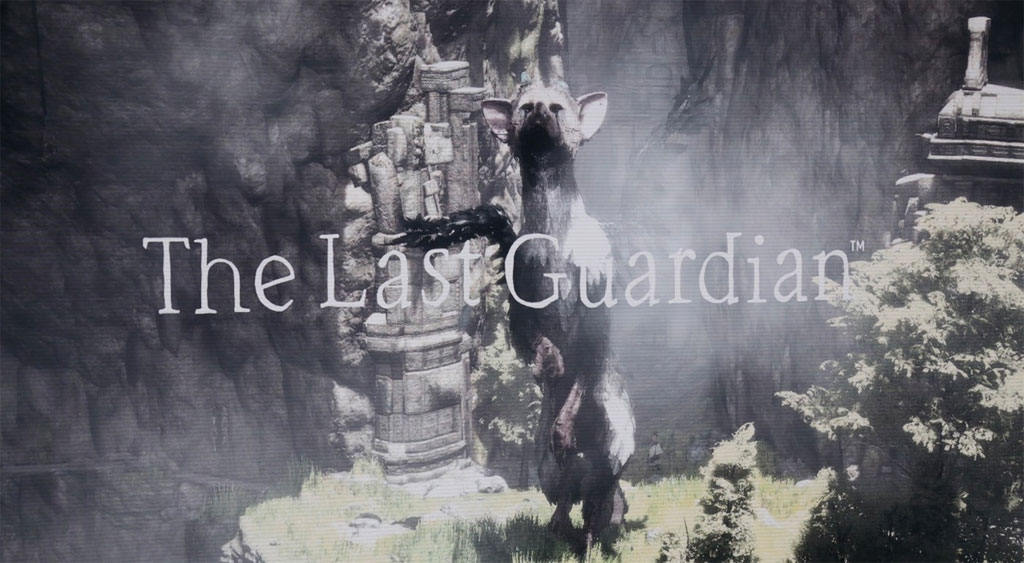 The Last Guardian a PlayStation 4 Exclusive