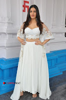 Telugu Actress Amyra Dastur Stills in White Skirt and Blouse at Anandi Indira Production LLP Production no 1 Opening  0010.JPG