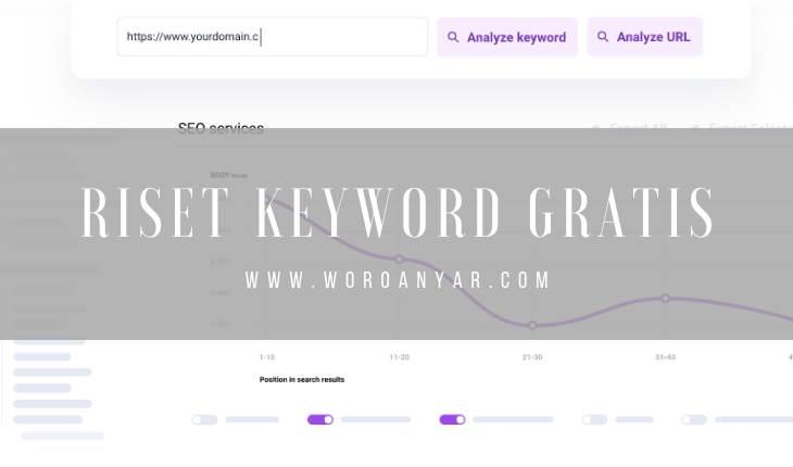 4 Situs Gratis untuk Riset Keyword yang Digunakan para Mastah Blogger