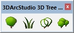3D Tree Maker plugin SketchUp