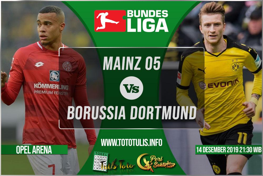Prediksi Mainz 05 vs Borussia Dortmund 14 Desember 2019