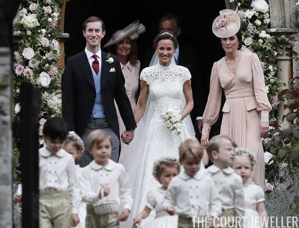 Jewels Of Pippa Middletons Wedding