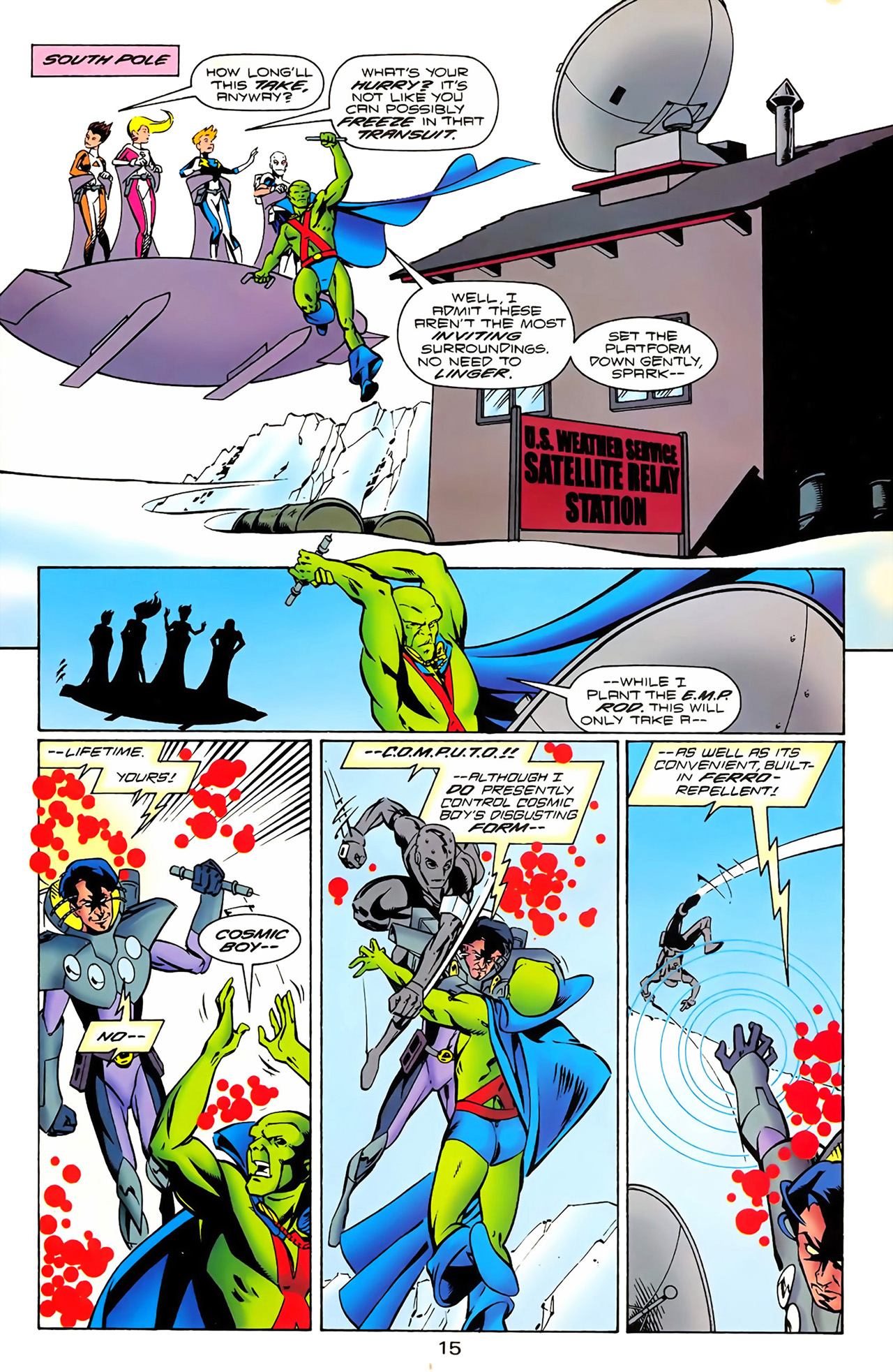 Legion of Super-Heroes (1989) 100 Page 14