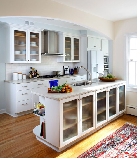 Before And After Of This Beautiful Open Concept Kitchen: SixteenRichAve: Opening Up Your Galley Kitchen