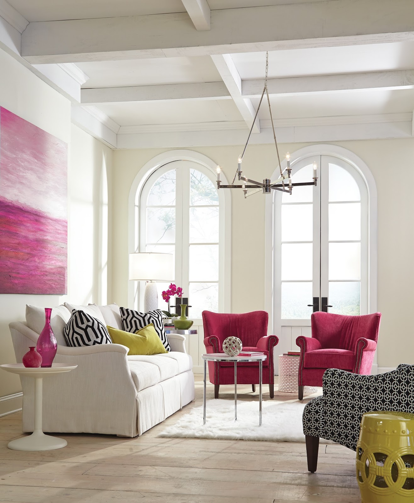 No Rooms Colorful Furniture: Big Burst Of Color At High Point Market