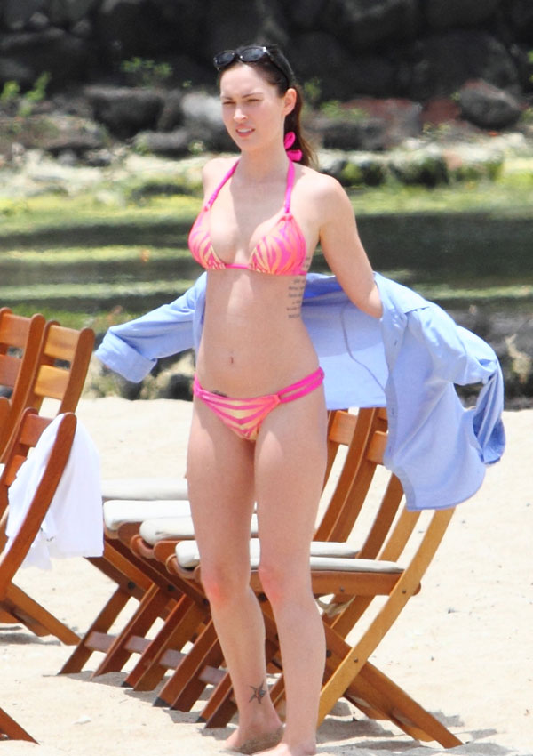 Celebrikinis Megan Fox, Katie Holmes And Michelle -6571