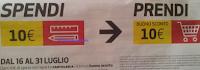 Logo Coop: lo sconto fa scuola + Spendi & Riprendi 10 euro