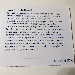 November 2017 Stitch Fix Review. Is Stitch Fix worth it? Stitch Fix for students. What to wear to law school. Law school outfit idea and inspiration. Law school clerk outfit. Law school intern outfit. Legal clerk outfit. Legal intern outfit. Legal associate outfit. Stitch Fix for work. Personalized shopper. First Stitch Fix box. Subscription box review. Clothing subscription box. Fashion subscription box. Women's clothes subscription box. Stitch Fix coupon. Stitch Fix code. Stitch Fix discount. Stitch Fix referral. | brazenandbrunette.com