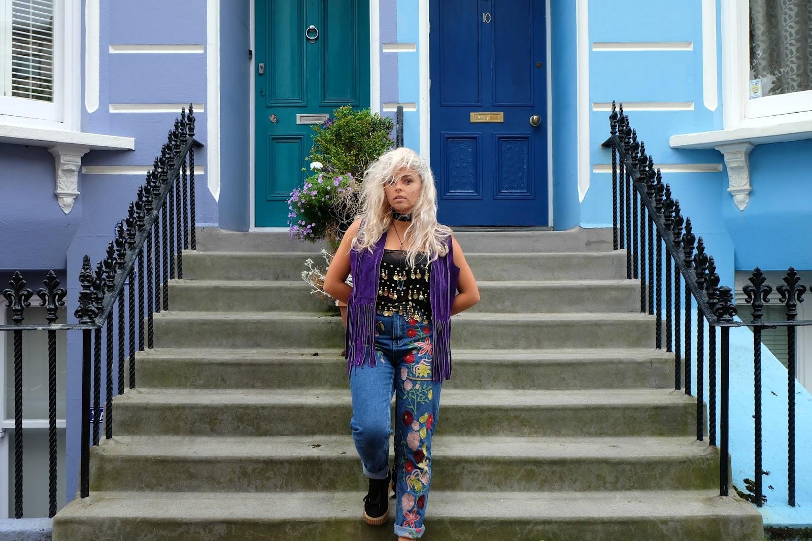Brighton colourful houses 2016